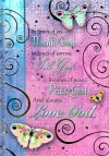 Journal - Thank God, Seek God, Praise God and Love God