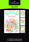 Blank Cards - Loving Life  - Boxed Set of 12 Cards