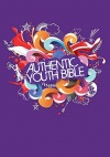 ERV Authentic Youth Bible Purple, Hardback Edition