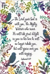 Card - Mighty Warrior - Zephaniah 3:17