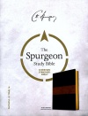 CSB Spurgeon Study Bible, Black and Brown LeatherTouch