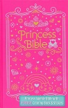 ICB Princess Bible with Coloring Sticker Book, Hardback Edition