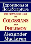 The Epistles of Paul to Colossians and Philemon - MBCE - CCS