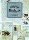 Birthday Cards - Nesting, Deluxe Diecut, Box of 12