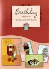 Birthday Cards - Sweet Celebrations, Deluxe Diecut, Box of 12