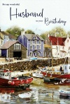 Birthday Card - For My Wonderful Husband on Your Birthday by ICG JJ7511