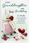 Birthday Card - For A Special Granddaughter on Your Birthday - ICG JJ8658