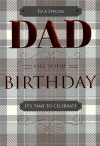 Birthday Card - To A Special Dad on Your Birthday - ICG JJ8585