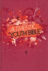 ERV - Authentic Youth Bible, Red