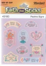 Faith that Sticks - Psalm Signs - Stickers