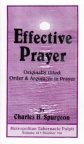 Effective Prayer - (Classic Booklet) - CBS