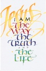 Tract - Jesus I Am the Way the Truth the Life (pk 25)